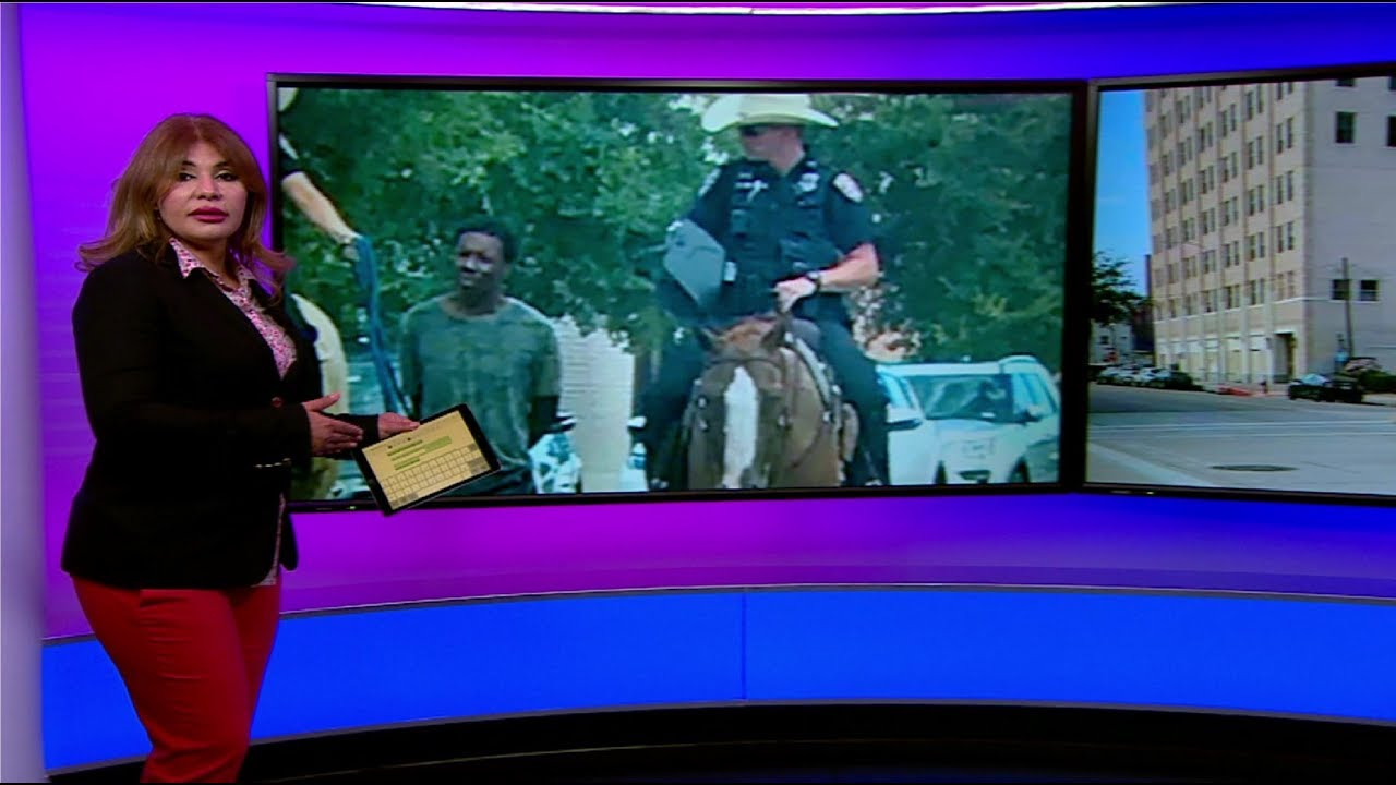 """شرطة ولاية تكساس تعتذر عن """"جر"""" رجل أسود بحبل بعد اعتقاله"""