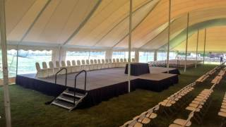 Tent Events - Graduation Setup - Timelapse