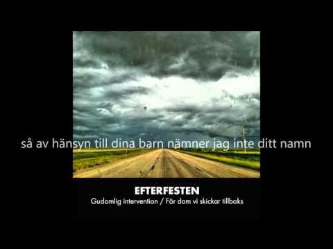 Efterfesten - Gudomlig intervention (lyrics)