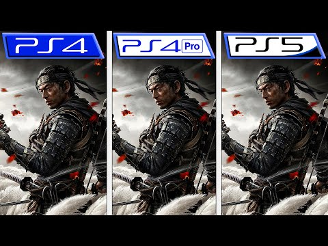 Ghost of Tsushima | PS5 - PS4 - PS4 Pro | Graphics & FPS Comparison