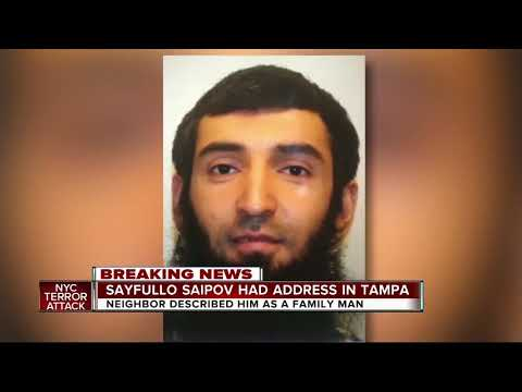 Tampa woman remembers NYC terror suspect as 'family man'