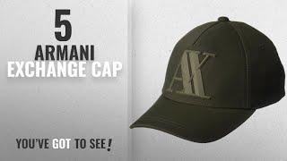 Top 10 Armani Exchange Cap [2018]: A|X Armani Exchange Men's Baseball Cap