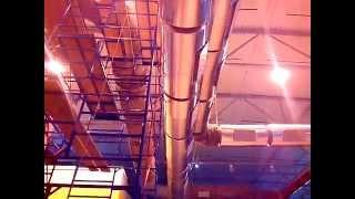 Теплоизоляция оборудования и воздуховодов завода по производству минеральной ваты АРМАКС(Теплоизоляция внутрицеховых трубопроводов, емкостей, воздуховодов, технологического оборудования в г...., 2013-09-09T05:52:18.000Z)