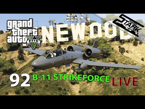 GTA 5 - 92.Rész (B-11 Strikeforce Tuning & Casino) - Stark LIVE
