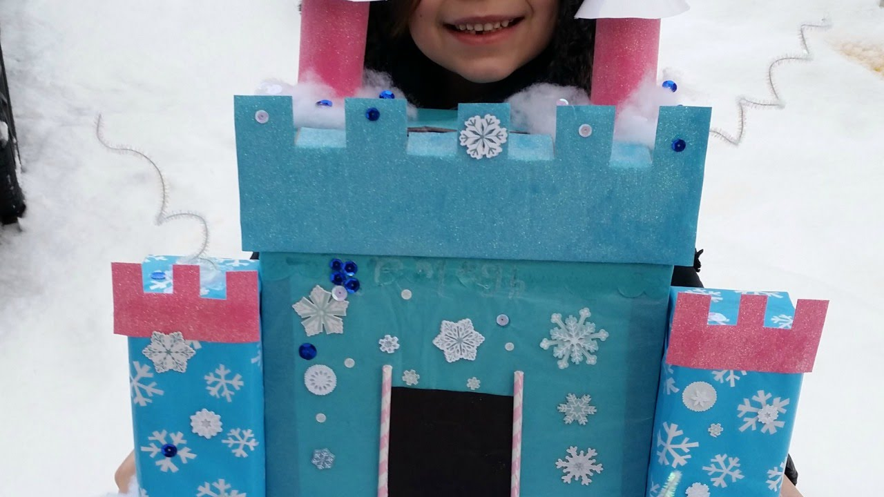 Create A Frozen Letter Box Castle   DIY Crafts   Guidecentral   YouTube