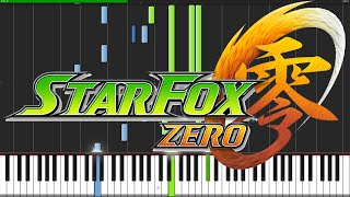 Staff Credits 2 - Star Fox Zero [Piano Tutorial] (Synthesia) // DS Music
