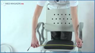 видео Кресло-каталка с туалетным устройством - Rebotec Бонн
