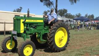 TRACTORS AT KINGAROY 2016