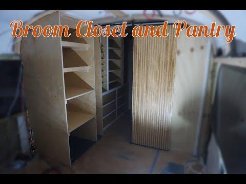 Building The Broom Closet & Pantry