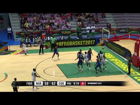 Ikenna (Ike) Iroegbu FIBA AfroBasket 2017 Highlights Part 1