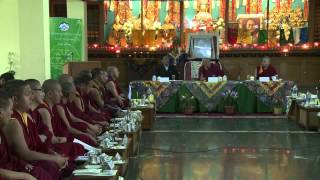Conference on Development of Tibetan Monastic Education_Opening Session
