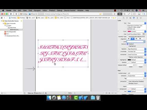 Episode - 4 : Working With UILabels | XCODE - 10.2 | SWIFT 5 thumbnail