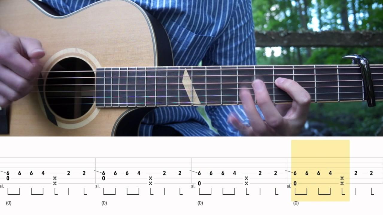 Post Malone Congratulations Fingerstyle Guitar Tutorial Lesson