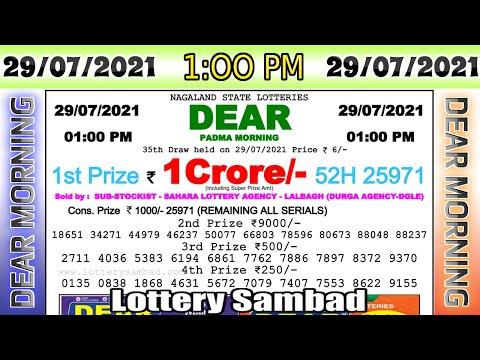 Lottery Sambad Result