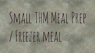 THM meal prep