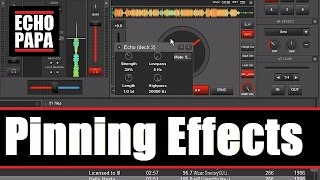 Virtual DJ 8: Pinning Effects