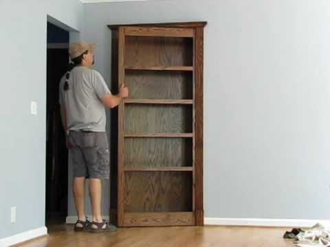 Pivoting Bookcase Youtube