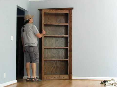 Pivoting Bookcase Youtube