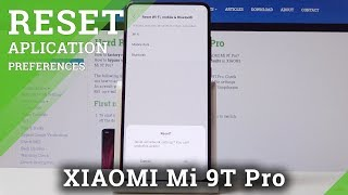 How to Reset Network Settings in XIAOMI Mi 9T Pro - Restore Network / Fix Wi-Fi