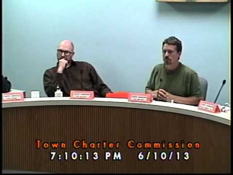 Town Charter Commission Hearing 06/10/2013 (Newmarket, New Hampshire)
