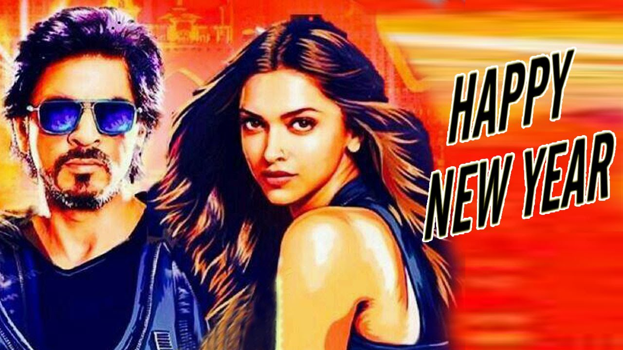Happy New Year NEW POSTER ft Shahrukh Khan & Deepika ...