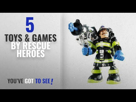 Top 10 Rescue Heroes Toys & Games [2018]: Rescue Heroes Billy Blazes Special FDNY Edition