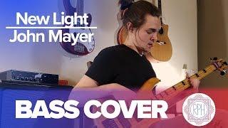 New Light -John Mayer | Bass Cover (Unblocked Audio Link)