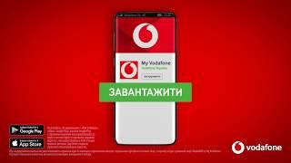 Тряси смартфон та забирай свій подарунок від My Vodafone!