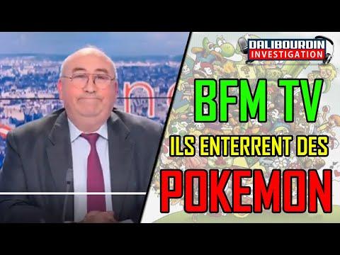 """BFMTV en plein hommage aux victimes chinoises sort """"ILS ENTERRENT DES POKEMON !!"""" ....OKLM"""