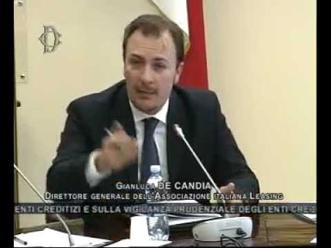 Roma - Audizione di Gianluca De Candia
