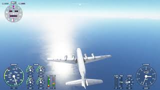 Flight Sim 2020 - Trying to Fly the PMDG DC-6 Across the Atlantic (Early Attempts)