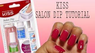 Kiss acrylic nail dip system | Tutorial