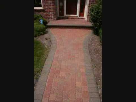 Brick Paver Cleaning And Sealing Before And After Pictures Hardscape  Driveways U0026 Patios