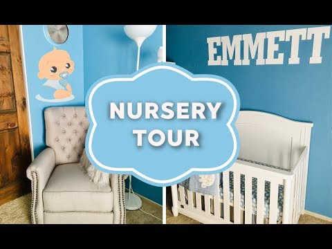Тур По Детской Комнате | Baby Boy Nursery Tour!