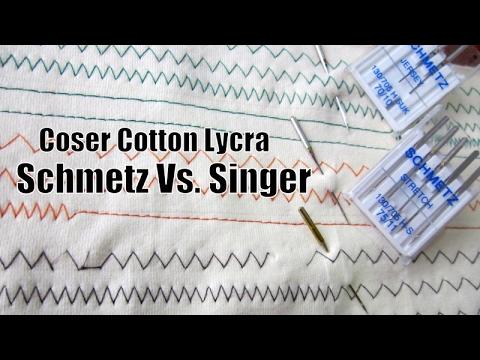 Errores de puntadas en tela algodón licrado o Cotton Lycra