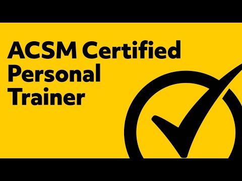 free acsm certified personal trainer study guide -