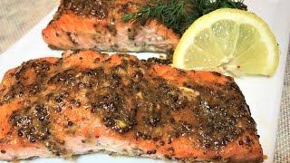 СЁМГА ПРАЗДНИЧНАЯ  Простой рецепт. Salmon With Sauce.