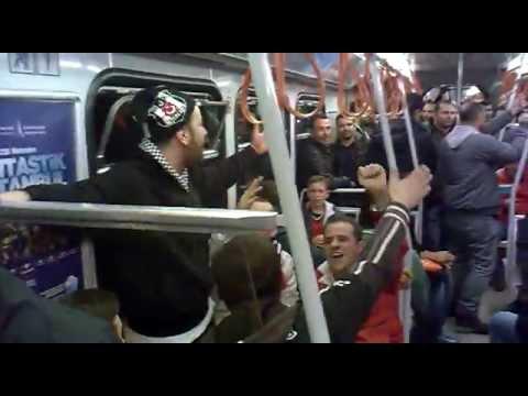 Beşiktaş - Bursaspor | Maç sonu Aksaray metrosu