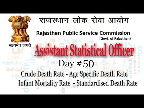 Crude Death Rate | Infant mortality rate | Standardized Death rate | Rpsc aso classes | Day#50