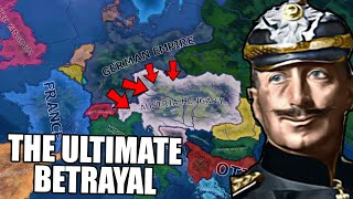 What If The German Empire Betrayed Austria Hungary?! HOI4
