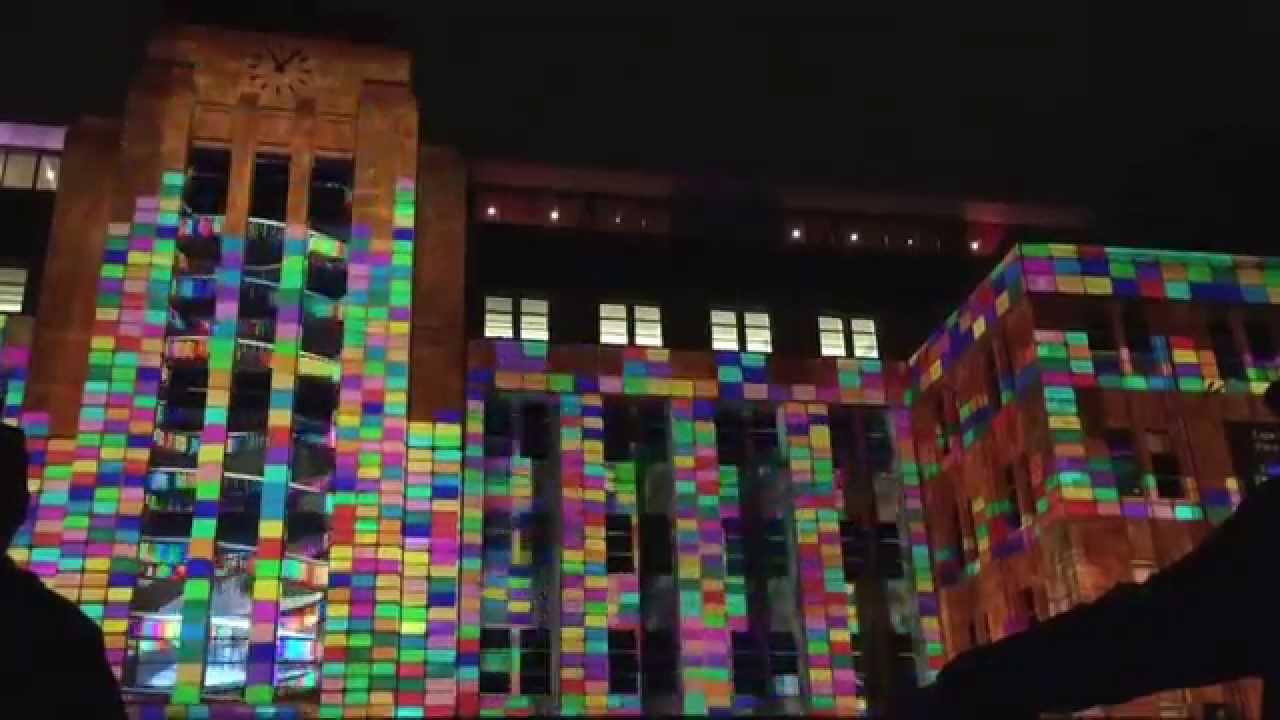 Vivid Sydney 2015 Museum Of Contemporary Art MCA Light Projection