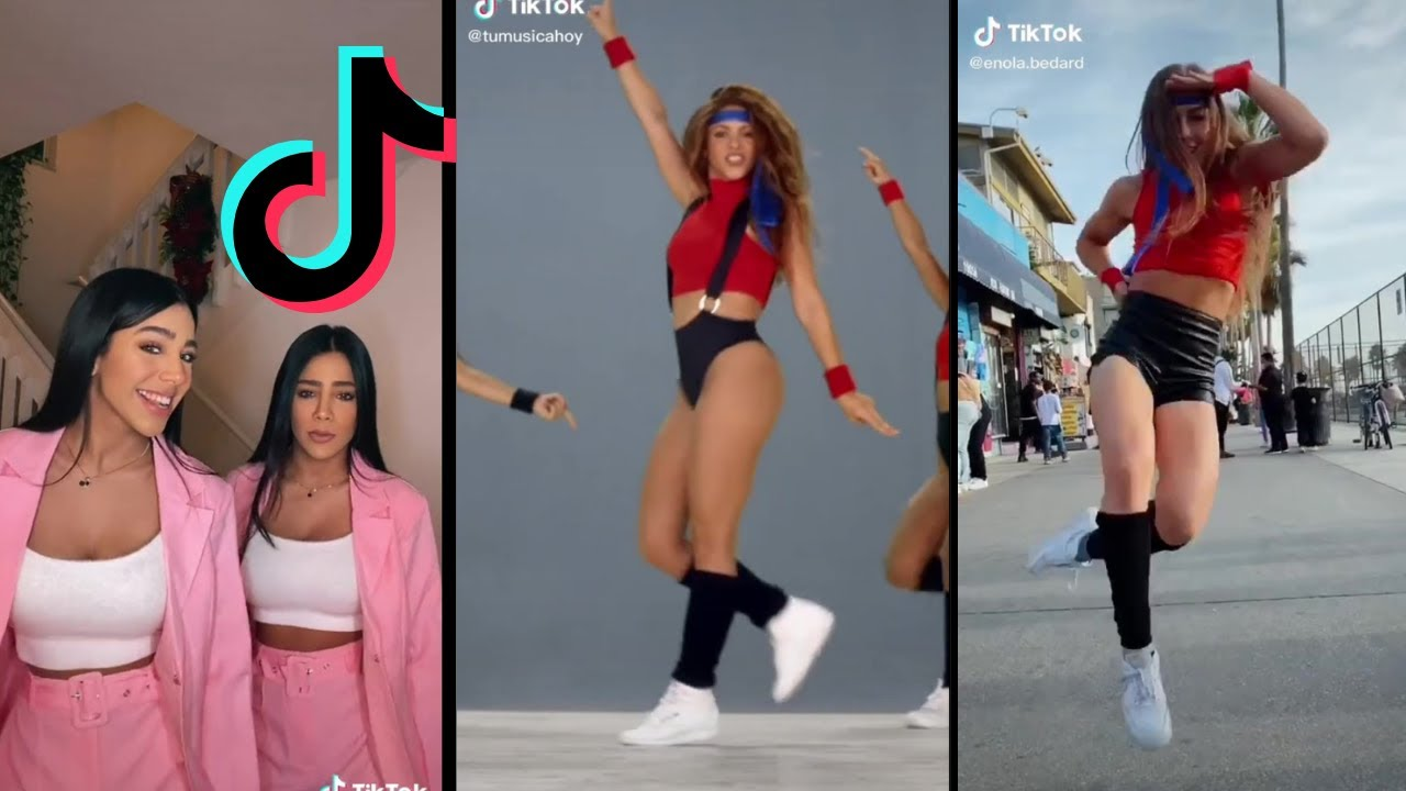 Download Black Eyed Peas Shakira GIRL LIKE ME Tik Tok Dance Challenge Compilation😍😉