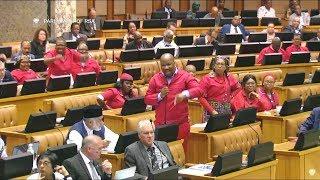 "Comedy Comedy - Tsenoli Ordered EFF MP to ""Take A Walk"""
