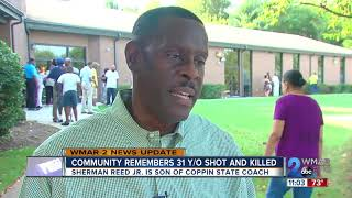 Coppin State Baseball Coach remembers his son who was shot and killed in his home