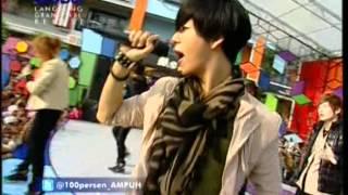 FAME Live Performed At 100% Ampuh (22-04-12) Courtesy GLOBAL TV
