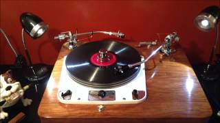 Enrico Caruso ‎ The Lost Chord 78  Record recorded 1912 played on Garrard 301