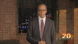 Lester Holt Joins Dateline NBC Announcement Season 20