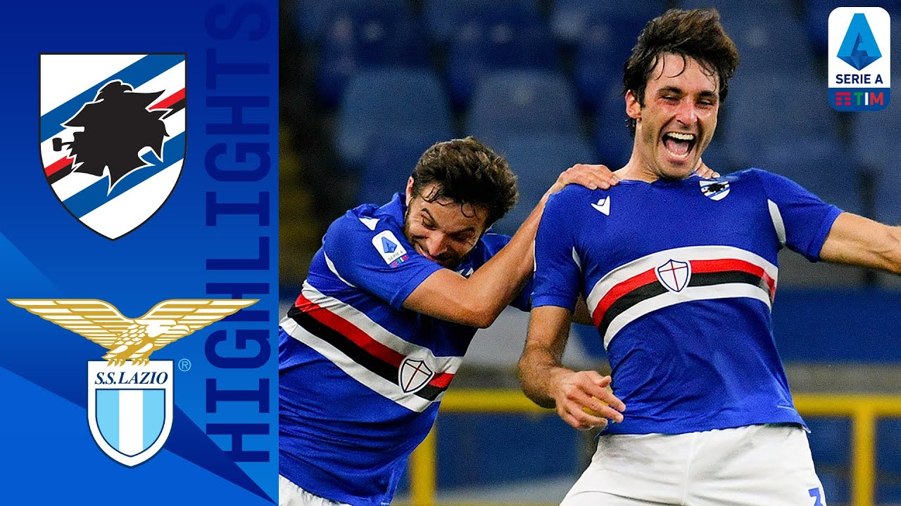Sampdoria 3-0 Lazio | Quagliarella Opens The Scoring As Sampdoria Hit 3! | Serie A TIM