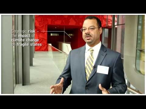 Dr. Marcus King on climate change and the U.S. defence community