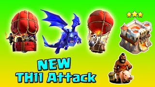 NEW TH11 Attack 3 Star Attack Strategy 2020 | Clash Of Clans